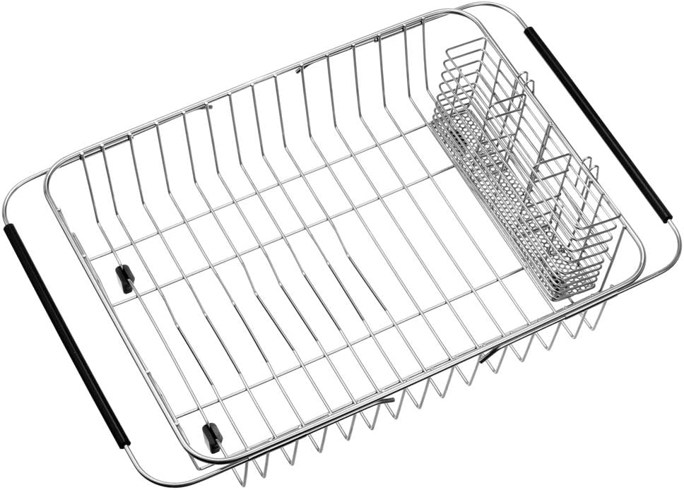 WEGAP Dish 100% quality warranty! Drying Rack Stainless safety Holder with Utensil Steel Wire