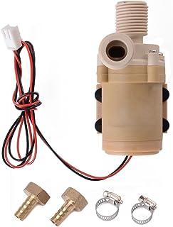 Pompe /à eau /à haute pression DC 12V Pompe de lavage de voiture 115psi 5lpm Pompe /à eau auto-amor/çante /à diaphragme pour camping caravanier Marine Garden
