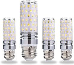 12W/15W LED Corn Light Bulb, B15/B22/E12/E16/E17/E26/E27 Candle Bulb, 360° Beam Angle Edison Corn Lamp, Cool/Warm White Ki...