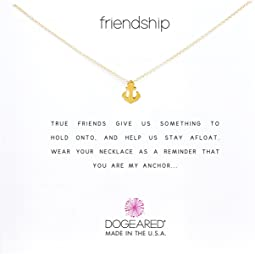 Friendship Anchor Reminder Necklace