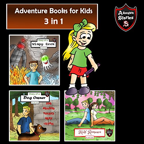 Adventure Books for Kids: Fun Stories for the Kids in 1 audiobook cover art