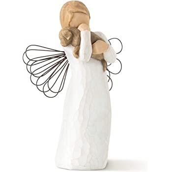 Willow Tree Angels, Sculpted Hand-Painted Figure (Angel of Friendship)