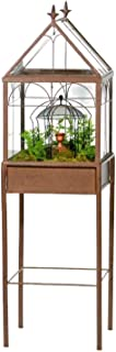 H Potter Large Glass Terrarium Succulent Planter Wardian Case for Plants