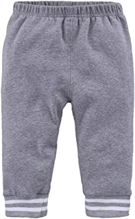Weixinbuy Toddler Baby Boy's Comfort Basic Elastic Waist Stripe Harem Pants Trousers Bottoms