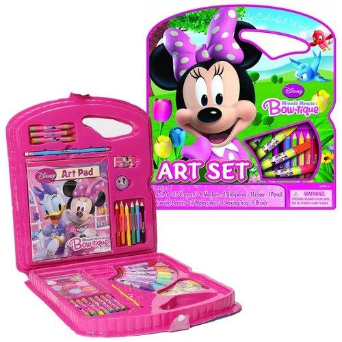 Bendon Disney Minnie Mouse Character Art Tote Activity Set