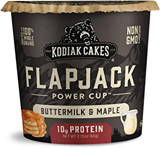 Sponsored Ad - Kodiak Cakes Pancake On the Go, Buttermilk and Maple, 2.15 Ounce (Pack of 12)