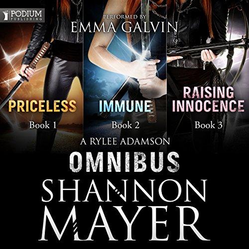 A Rylee Adamson Omnibus audiobook cover art