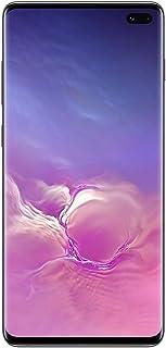 موبايل سامسونج جالاكسي S10 بلس بشريحتين اتصال - 512 جيجابايت، ذاكرة RAM 8 جيجابايت، 4G LTE، لون اسود سيراميك Sm-G975FckgXSg