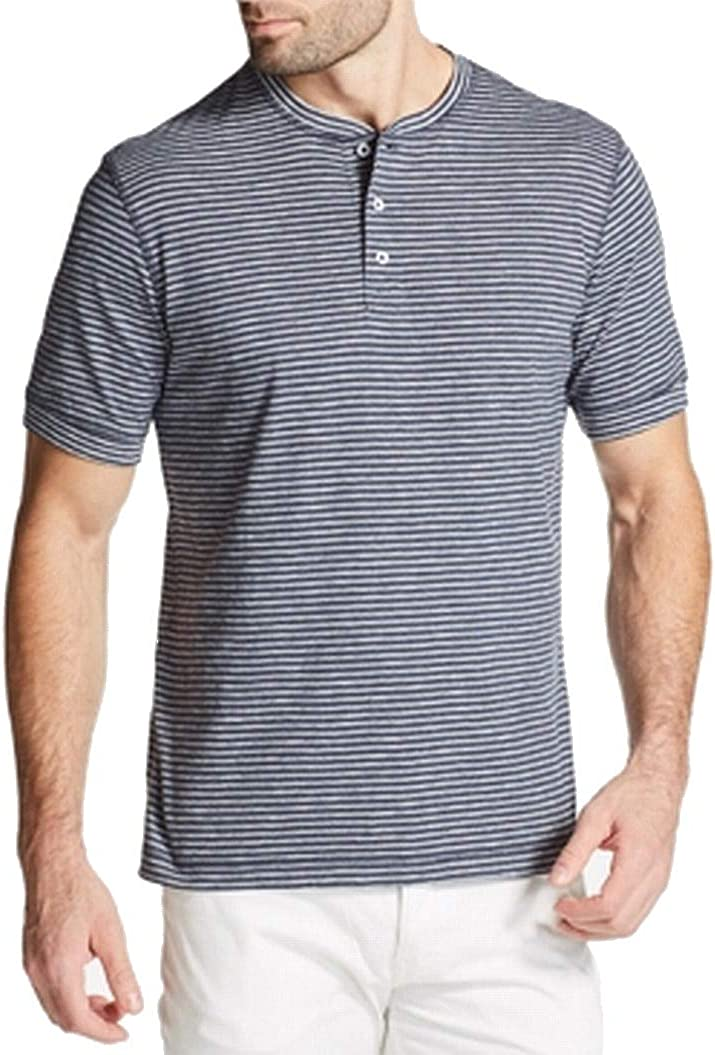 Weatherproof Mens Striped Henley Shirt