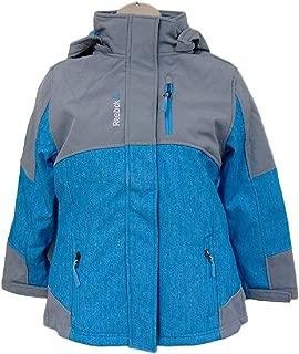 Reebok 2-in-1 Systems Jacket Boys/Girls (Medium (10/12) Light Blue/Gray)