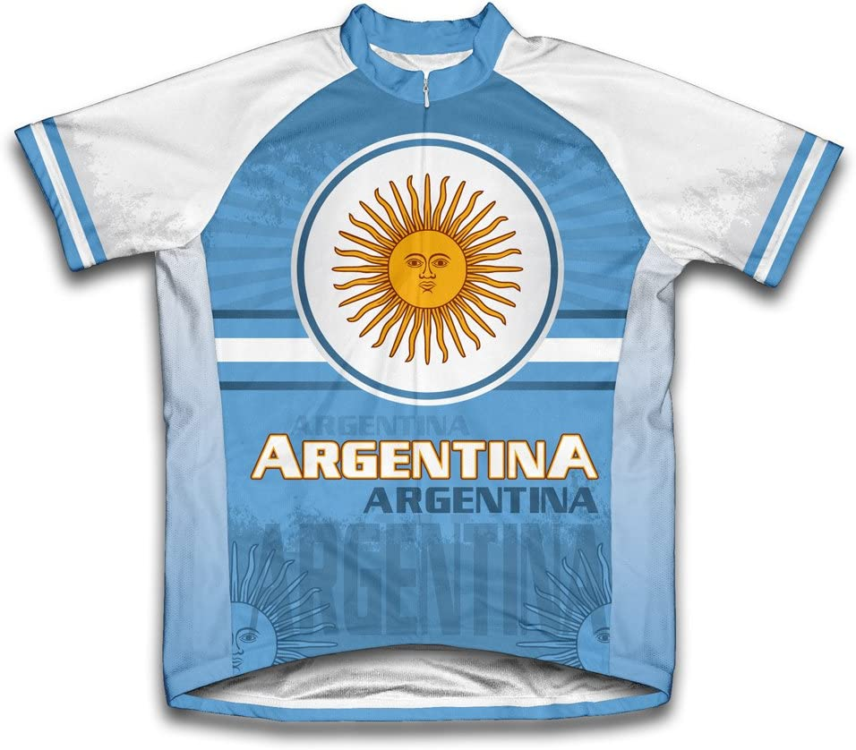 ScudoPro Argentina Short Sleeve Men Cycling Jersey Ranking TOP1 Sale SALE% OFF for