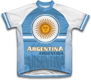 ScudoPro Argentina Short Sleeve Cycling Jersey for Men