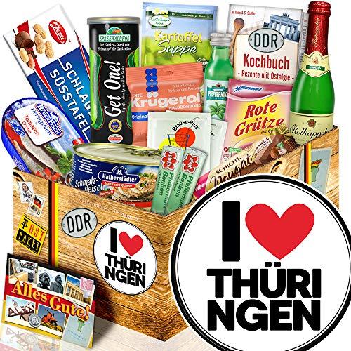 I Love Thüringen - Thüringen Geschenk - Ost-Set Spezialitäten