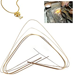Varilla de soldadura de plata, varilla / alambre de soldadura de oro, plata, cobre y hierro, soldadura de plata, equipo / equipo de joyería, herramientas de ...