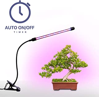 Plant Grow Lamp, Megulla LED Grow Light Bars with Dimmer and Timer(3/9/12H), Free USB Adapter(5V2A) Included, for Indoor Plants, Greenhouse, Vegetables, Herbs and Potted Plants