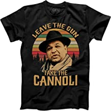 Leave The Gun Take The Cannoli Vintage Retro T-Shirt Peter Clemenza The Godfather