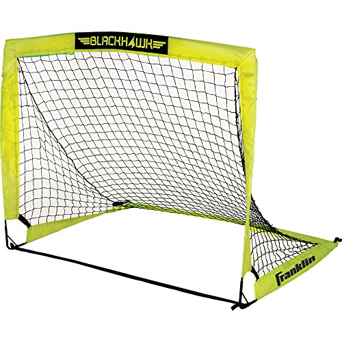 Franklin Sports Blackhawk Portable Soccer Goal - Small - 4 x 3 Foot