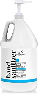 Artnaturals Hand Sanitizer Gel Alcohol Based (1 Gallon x 128 Fl Oz / 3785ml) Infused with Jojoba Oil, Alovera Gel & Vitami...
