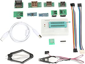 Plus Programmer, Universal USB Programmable Logic Circuits for TL866II Plus EEPROM Flash 8051 AVR MCU GAL PIC with 10 Adapter
