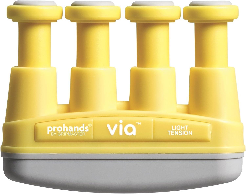 VIA Hand and Finger Exerciser, Light Resistance (4-Pounds per Finger)