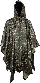 معطف مطر ، معطف مطر مقاوم للماء مع قلنسوة معطف مطر للأنشطة الخارجية للرجال والنساء