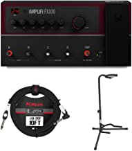 Line 6 AMPLIFi FX100 iOS/Android Enabled, Cloud-enhanced Multi-effects Pedal Bundle with Guitar Cable and Guitar Stand
