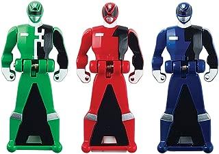 Power Rangers Super Megaforce - SPD Legendary Ranger Key Pack, Red/Blue/Green
