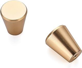 Ravinte 30 Pack 3/4 inch Kitchen Cabinet Knobs Drawer Knobs Dresser Knobs Champagne Knobs Drawer Pulls Door Knobs Dresser ...