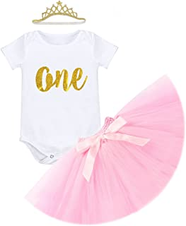 Floral Shorts Bloomer Pants FYMNSI Baby Girl 1st First Birthday Outfit Infant Wild One Summer Vest Sleeveless Shirt Headband 3pcs Clothes Set Cake Smash Party Casual Sunsuit