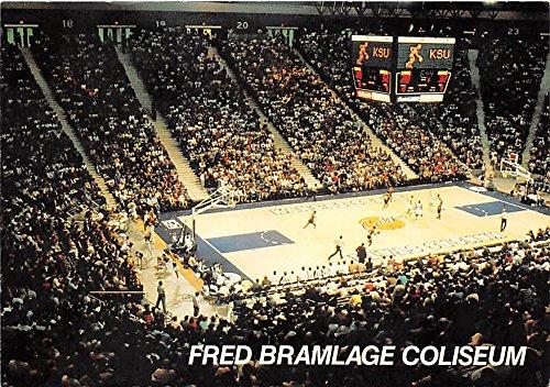 Fred Bramlage Coliseum, Kansas State University Kansas, KS, USA Old Vintage Basketball Postcard Post Card