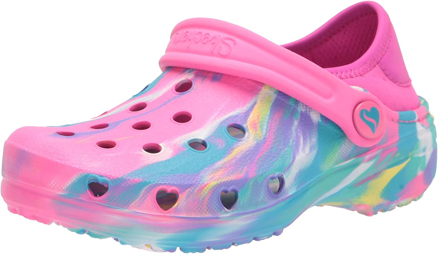 Skechers Unisex-Child Foamies Heart Our shop most popular Ranking TOP9 Clog Marble Charmer-Miss