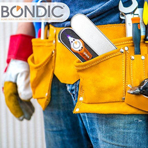 Bondic, The Handyman's Tool. The World's First Liquid Plastic Welder! Bond, Build, Fix and Fill Almost Anything in Seconds! (Bondic Starter Kit)
