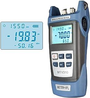 Medidor de potencia de fibra óptica con fuente de luz SC FC ST conector equipo de prueba óptica para CCTV CATV ingeniería de comunicación -70 dBm a 3 dBm