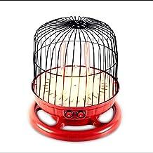 NAUY@ Mini Mahjong Estufa A La Parrilla Calentador De Termostato De Calefacción De Tubo De Cuarzo De Uso Doméstico Interruptor Doble Elemento De Calefacción Doble Luz Silenciosa 800W 260 * 270mm Risca