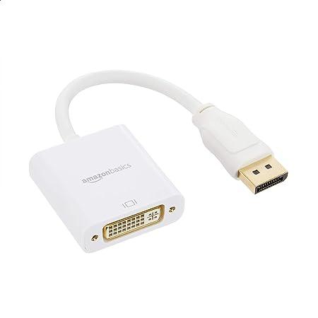 Amazon Basics DisplayPort to DVI Adapter, 1-Pack