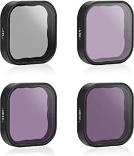AFAITH 4-Pack ND CPL Lens Filters for GoPro Hero 9 Black, 4-Pack (CPL ND8 ND16 ND32) Camera Lens Protector Kit Set, Neutra...