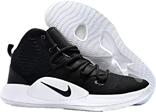 Men's Hyper Dunk X(Team) Basketball Shoe,Black/Black-White, 10