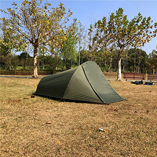 Outdoor Camping Tent Ultralight Back Tent For 2 People, Army Green Tent For 2 People, Army Green Camping Tent For 2 People