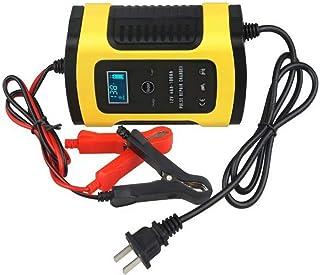 Bilbatteriladdare 12V 6A Intelligent automatisk batteriladdare Underhåll som används för att ladda batterier för bilar, mo...