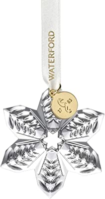 Waterford Mini Pointsettia Ornament
