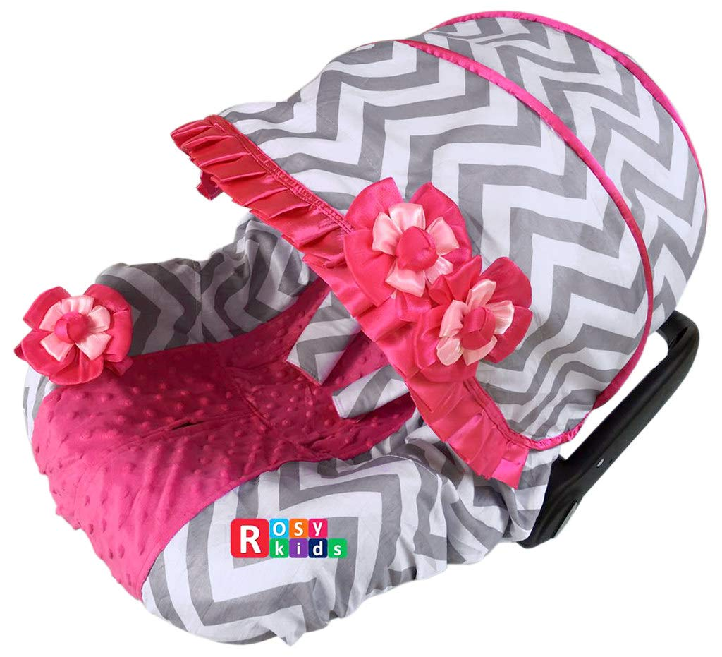 25% OFF Rosy Kids Infant Carseat Canopy Cover Baby discount Caboodle Whole 3pc C