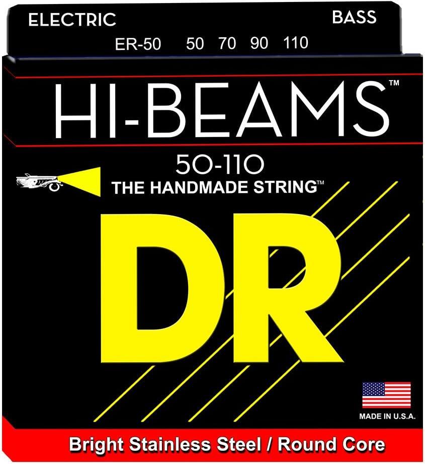 High quality DR Strings ER-50 Heavy Hi-Beam Bass Steel Guitar Strin Stainless Atlanta Mall