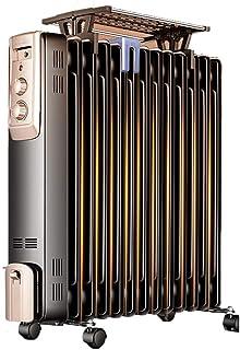 Zzq- Radiador De Aceite De 13 Elementos, 2200W Watios, Dispone De 3 Ajustes De Potencia Y Control Termostático De Temperatura