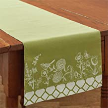 Park Designs Abby's Garden 13 Inches x 54 Inches Printed Cotton Table Runners Kitchen Linens