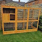 Feel Good UK Large Wooden Bird Aviary Cage