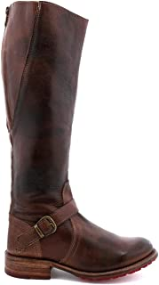 BED STU Women's Glaye Boot, Teak Rustic, 7 M US
