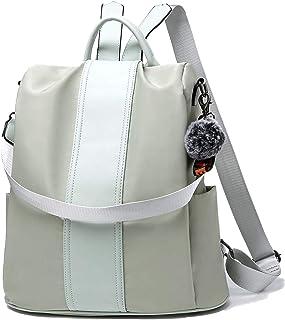 TcIFE Damenrucksack wasserdichte Anti-Diebstahl-Schultasche Schulreiserucksack Handtasche Umhängetasche