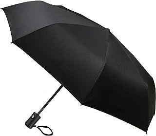 Paraguas Plegable, TechRise Paraguas Plegable Automático Impermeable de Viaje Compacto Resistencia Contra Viento para Viaj...
