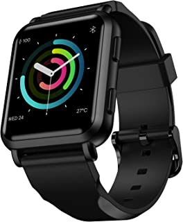 Noise ColorFit NAV Smart Watch with Built-in GPS and High Resolution Display (Stealth Black)