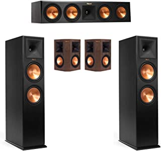 Klipsch RP-280F 5.0 Home Theater System with RP-280F Towers, RP-450C Center, 250S Surrounds